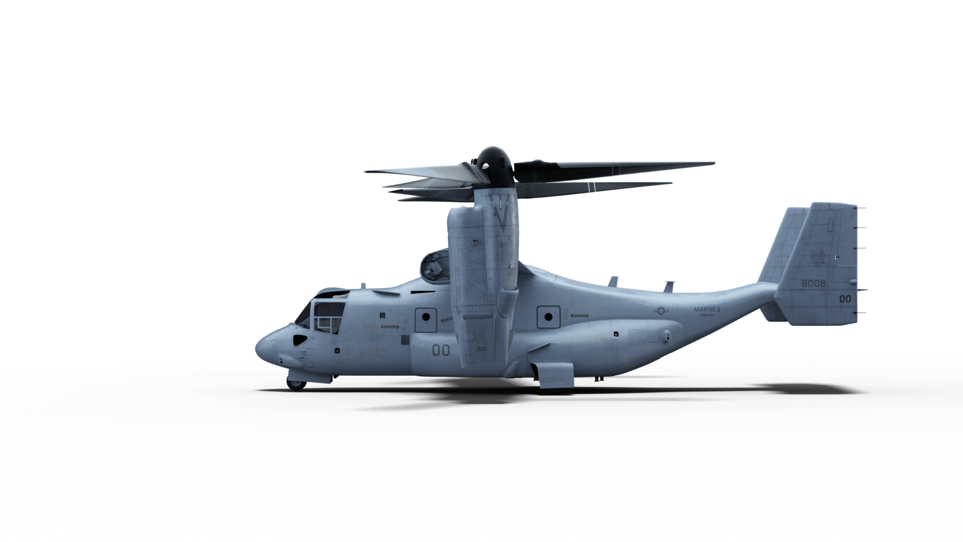 Bell Boeing V 22 Air Assault And Special Ops With An