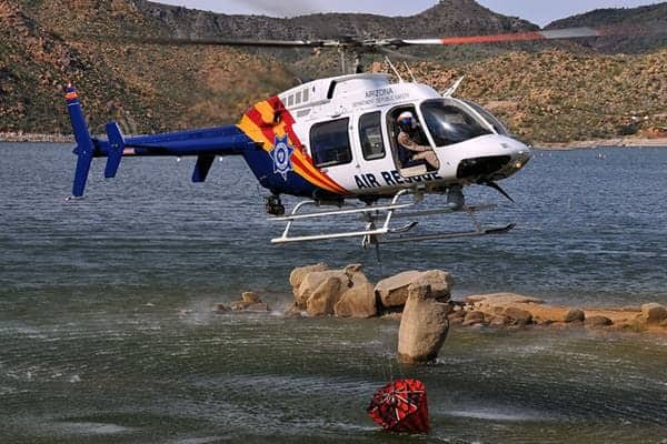 Bell 407 Bell 407 Low Over Water
