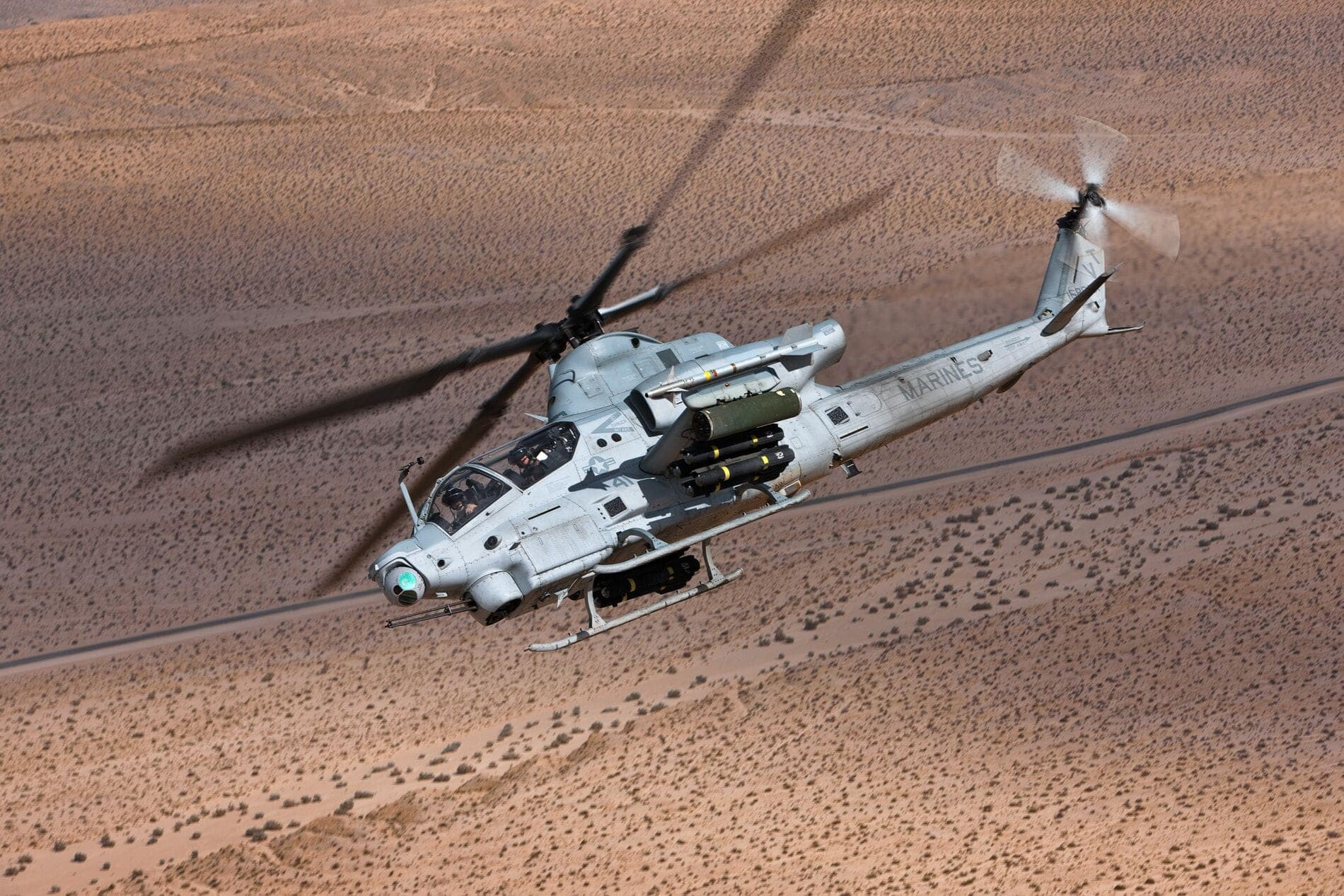 Bell AH-1Z - Attack and Reconnaissance Helicopter Engineered for the