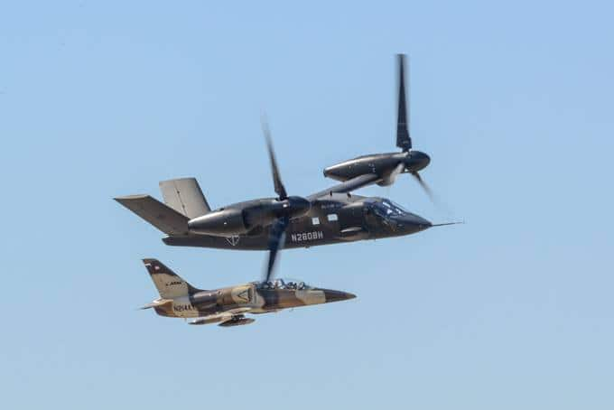 V-280 at Alliance Air Show 2019 and ATAC L39 Jet 3