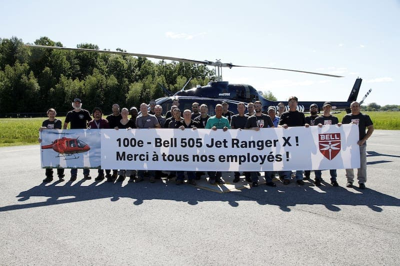 100th Bell 505 Delivery Ceremony