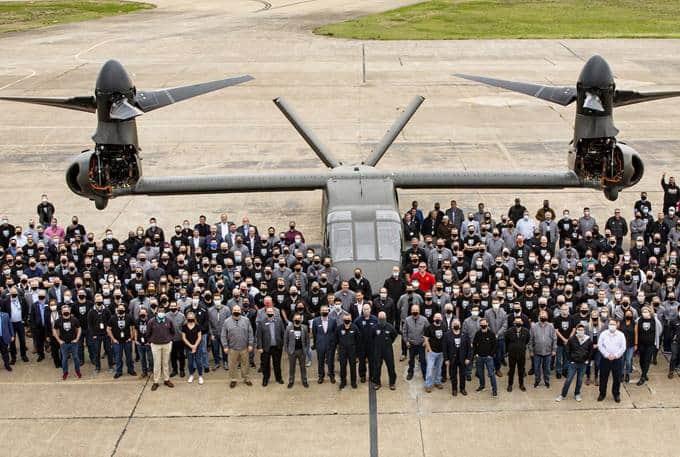 V-280 Employee ceremony group shot